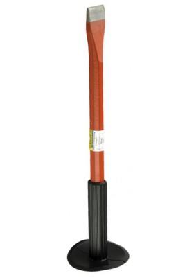 Зубило слесарное (лопатка) 300мм STAYER с протектором /2120-30/