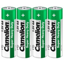Батарейка солевая R6/4шт/Camelion