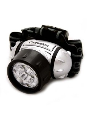 Фонарь налобный Camelion LED-5317-9Мх/металлик, 9LED,4 режима,3xR3 в ком-те