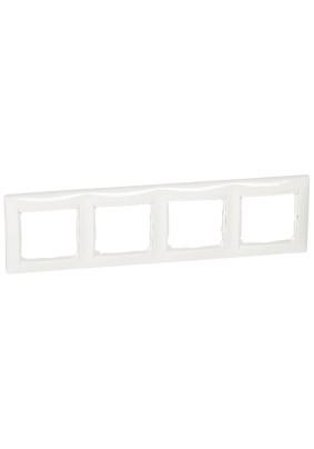 Рамка 4 Valena/бел/Leg 694255