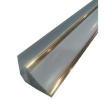 Плинтус золото вст.пвх /P2G/2,7м