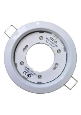 Светильник Ecola GX53-H4 FW53H4ECB белый 38х106