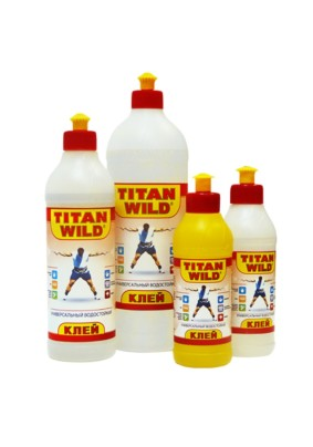 Клей универсальный TITAN WILD/0.5 л/36/