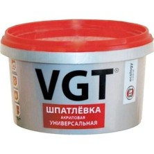 Шпатлевка акриловая ВГТ универсальная/1.0 кг/