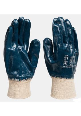 Перчатки нитрил. МБС /маслобензостойкие/мягк.манж./РП/Пер 305