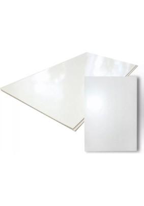 Панель ПВХ /3000х375/Белый глянец