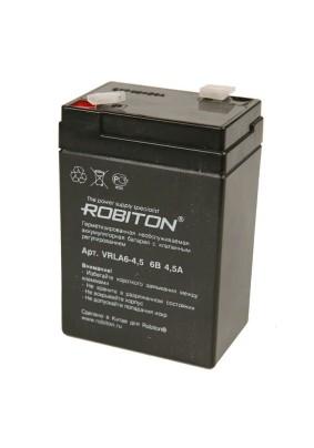 Аккумулятор HI-WATT ROBITON VRLA6-4.5/6В 4500mAh/