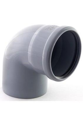 Отвод внутр. канализации Д 110  (87 гр.)          (35)