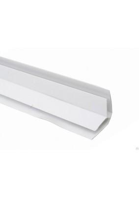 Уголок панельный.внутр.пластик./0.3х250см/аркт.белый