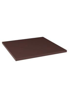 Natural Brown/Plain Brown/ Плитка базовая гладкая 30х30х1.1 /уп=0,99м/