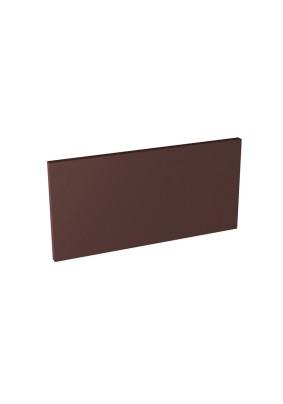 Natural Brown/Plain Brown/ Подступенник гладкий 14,8х30