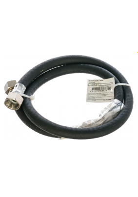 Подводка газовая резиновая 1 м в-в