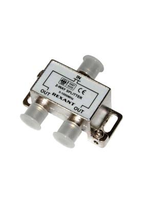 05-6001 Делитель(2513) TV краб х2 под F-разъем 1000 МГц rexant