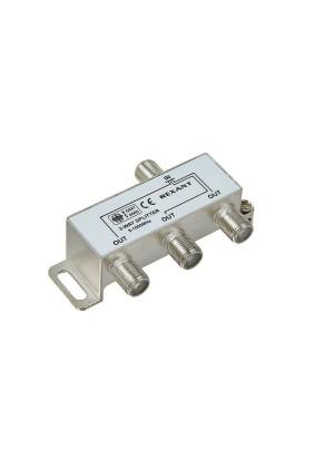 05-6002 Делитель(2515) TV краб х3 под F-разъем 1000 МГц rexant