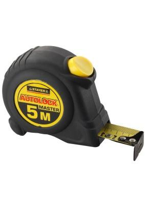 Рулетка STAYER 5м х 19мм AutoLock/2-34126-05-19/(1/6)