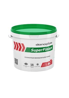 Шпатлевка финишная полимерная Danogips SuperFinish/28 кг/17л