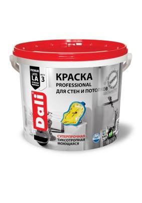 Краска для стен и потолков Dali Professional база А/9 л/