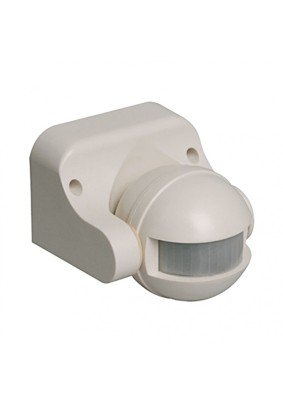 Детектор движения 1100Вт/IEK ДД 009 180гр.12м IP44 белый