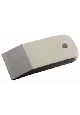 Шпатель резиновый 100мм/белый/плитка/арт 1016-100/