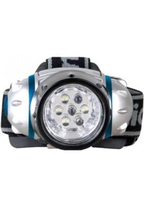 Фонарь налобный Camelion LED-5310-7F3/металлик, 7LED,4 режима,3xR3 в ком-те