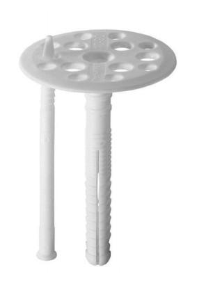Дюбель для изоляции 10х 90 /с пласт. стержнем/
