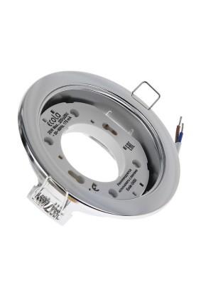 Светильник Ecola GX53-H4 хром 38х106/FC53H4ECB