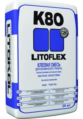 """ПЛ/Клей для плитки """"LITOFlex K80""""/25кг/"""
