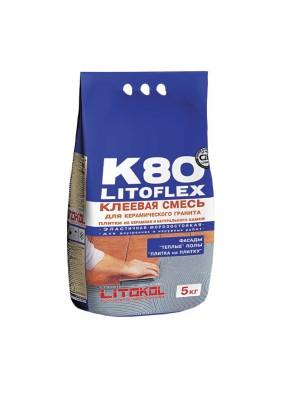 """ПЛ/Клей для плитки """"LITOFlex K80""""/5кг/"""