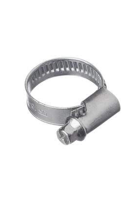 Хомут  16-27мм нержавеющая сталь