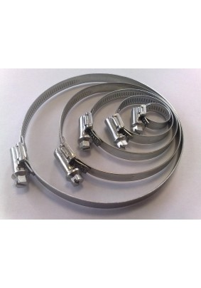 Хомут  20-32мм нержавеющая сталь (50шт/уп)