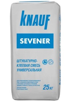 Штукатурно-клеевая смесь Кнауф Севенер/25кг/