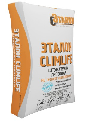 "Штукатурка гипс. ""Эталон ClimLife""/30кг/сер./"