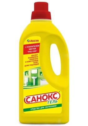 Чистящее средство для сантехники Санокс гель 1,1л