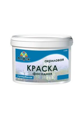 Краска фасадная Латек Л 301 /7 кг