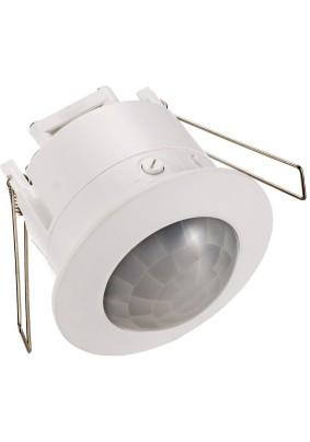 Детектор движения 1200Вт/Camelion LX453/встраив.потол./360гр/высота уст.2,2-4,0м/белый