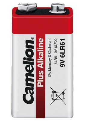 Батарейка крона/Alkaline/6LR61/Camelion