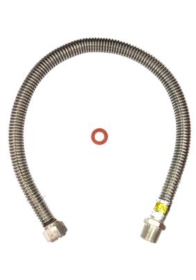 Подводка газовая сильфонная 1 м 1/2 в-н