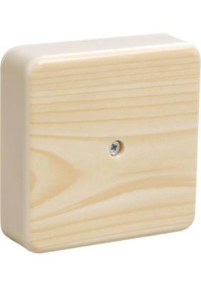 Коробка распр. ОП 75х75х20/IP20/сосна/