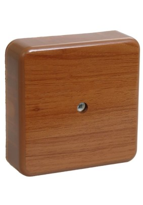 Коробка распр. ОП 75х75х20/IP20/дуб/IEK