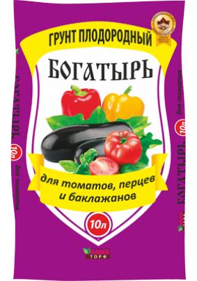 """Земля """"Плодородный"""" д/томатов/перца/баклажанов 10л"""