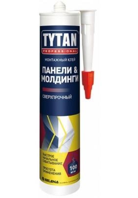 Жидкие гвозди Титан Панели & Молдинги/310 мл/59561/