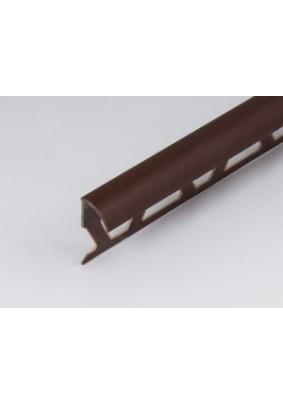 Раскладка наруж. для плитки 8 мм /коричнев/ 2,5м