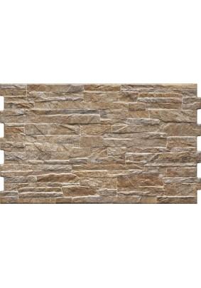Плитка фасадная Kamien Nigella terra 490*300*10 (уп=0,88/ шт=0,1467)