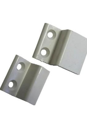 Держатель сетки металл. белый (комплект)