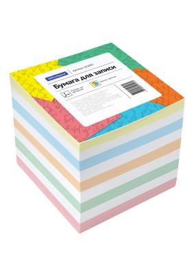 Блок бумаги д/записей/9х9х9/цвет./162002/