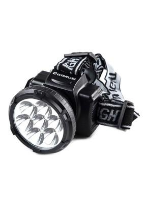 Фонарь налобный Ultraflash 5362/аккум.220В 7 LED,2 реж