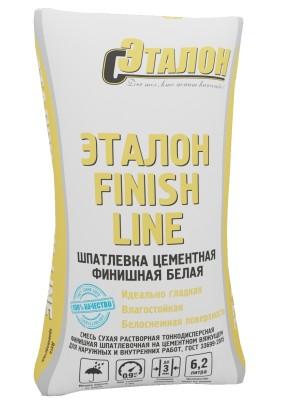 "Шпатлевка цем. финишная ""Эталон Finish Line""/20кг/бел."