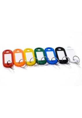 Бирка для ключей с кольцом