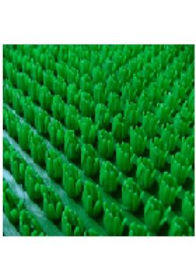 Щетинистое покрытие на ПВХ основе зеленый 0.9 м