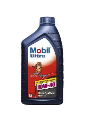 Масло мотор.Mobil Ultra 10W-40/1л/п/син./